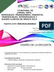 Resultados Diagnóstico LGBTIQ México 2015