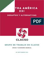 Clacso-Desafíos y Alternativa-nuestra América Xxi