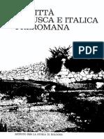 Note sulla formazione dei centri urbani in area sabellica (Studi sulla città antica, Adriano La Regina, 1966)