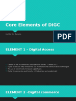 Core Elements of DIGC