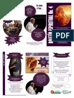 Boletín Espiritual en Tamaño Oficio No. 4