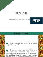 Fraudes em Alimentos