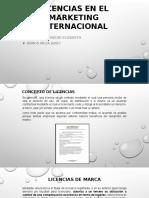 Licencias en El Márketing  Internacional