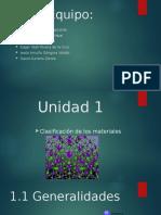 Propiedades de Los Materiales Unidad 1