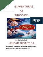 Unidad Didáctica Cuento Pinocho