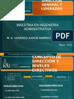 Direccion y Liderazgo Clase 3