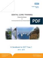 DCT Handbook - Special Care Dental Services and & Primary Care 2014-2015