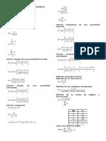 Formulario Ingenieria Economica