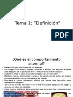 Tema 1 Definición