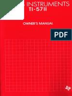 Calculadora Programavél TI-57II_GB
