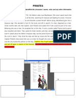 Worksheet - Theater Play - Pirates