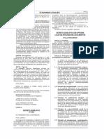 Ley de Inocuidad de Los Alimentos Dl. 1062
