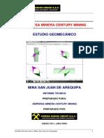 Informe Final Mina San Juan de Arequipa