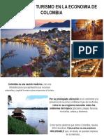 Impactos Del Turismo en Colombia.