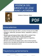 Legado de José Victorino Lastarria