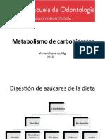 Clase 7-Metabolismo de Carbohidratos