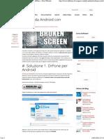 Recupero Dati Da Android Con Schermo Rotto_ SoftStore – Sito Ufficiale