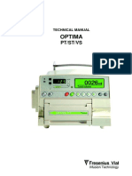 Fresenius Optima PT-ST-Vs - Service Manual