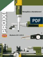 Proxxon Micromot Elektronarzedzia 2011 2012