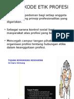 Etik Profesii