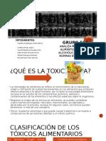 TOXICOLOGÍA-ALIMENTARIA