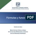 Formulas Funciones