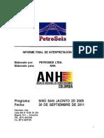 Interpretacion Sismica 2D San Jacinto 2005