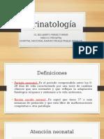 Neonatología - perinatologia