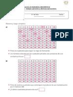 Guía de Actividades Patrones y Multiplicación