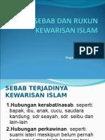 7_sebab & Rukum Kewarisan Islam (1)
