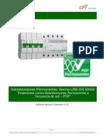 Cpt Cirprotec Ta8 Articulo Tecnico Sobretensiones Permanentes Une En50550