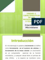 Unidad 2. Crecimiento Microbiano