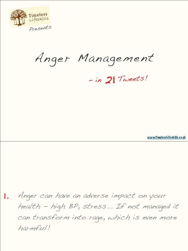 a history of anger management and health in science Anger management one out of five americans has an anger management problem we all know what anger is, and we've all felt it: whether as a fleeting annoyance or as full-fledged rage.