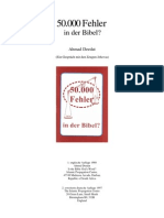 50000 Fehler in der Bibel? _ Ahmed Deedat