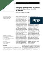 Adenovirus sampling and transport