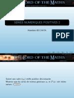 2.-Series Numeriques Reelles Positives Theoriques