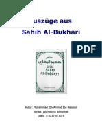 Auszüge aus Sahih Al-Bukhari _ Muhammad ibn Ahmad ibn Rassoul