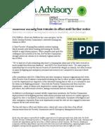 Advisory StateForestersBurningBanReminder 101016