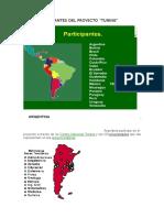 Países Participantes Del Proyecto tuning