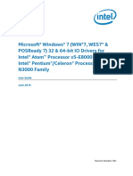 UG_Windows 7 IO _Pentium Celeron Processor N3000_Rev 001