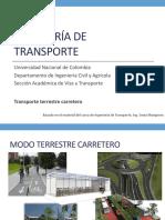 04 Transporte Terrestre Carretero I