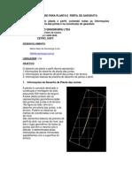 Software Para Tracado de Perfil de Gasoduto