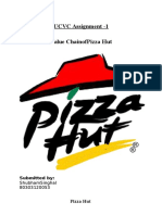 Value Chain of Pizza Hut