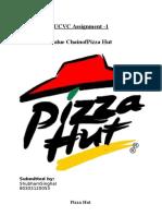 Value Chain of Pizza Hut
