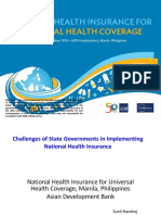NHI4UHC Day 2 Session 4 Challenges of State Governments in Implementing National Health Insurance