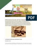 Periodización Del Mundo Prehispánico