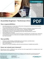 Assembly Engineer Technician