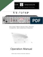Vt737sp Manual 2016