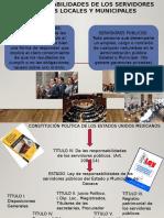 Responsabilidades de Los Servidores Publicos Locales y Municipales