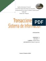 Informe de Trasaccion Original